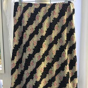 Lapis Boho Knee-Length Skirt - Ex. Condition 🛍👀